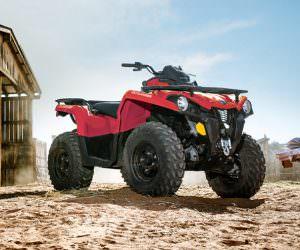 can-am, canam, outlander, outlander 450, 450, 450 hp, 2017, quadriciclo, atv